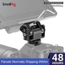 Montagem de monitor de inclinação universal smallrig com sapata fria para smallhd/atmos/monitor blackmagic/montagem de tela/evf-2431
