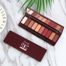 10 Colors Matte Eyeshadow Palette Eyes Makeup Shimmer Pearl Pigment Professional Mineral Eye Shade Waterproof Beauty Pallete