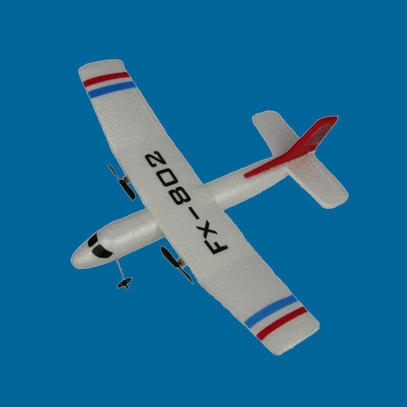Remote Control Aircraft Fx-802 Remote Control Glider EPP Drop-resistant Fixed-Wing Remote Control Aircraft Airplane Model Toy