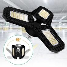 LED Lamp E27 LED Bulb 40/60/80W Garage Light 110V 220V Deform Light for Workshop Warehouse Factory Gym