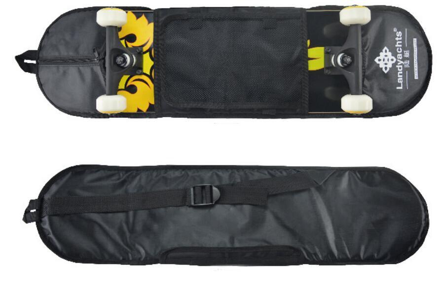 """78# Standard Skate Board Backpack Thicken Skateboard Shoulder Bag For 31"""" Skateboard"""