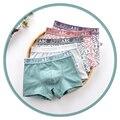 Jungen Unterwäsche Kinder Kleinkind Gestreiften Höschen Shorts Koreanische Kinder Kleidung Teenager Jungen Unterhose Erwachsene Boxer 5 Teile/paket