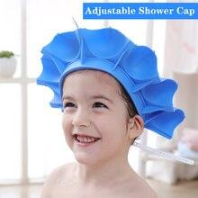 Детская шапочка для душа шампуня детская с козырьком мытья волос