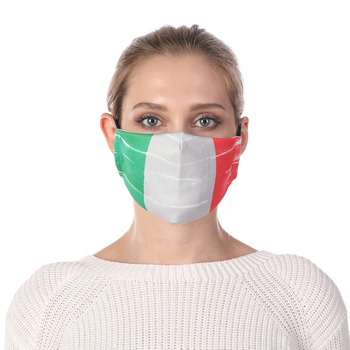 National Flag Printing Reusable Protective PM2.5 Filter Mouth Mask Anti Dust Mask Windproof Adjustable Face Masks Face Masks