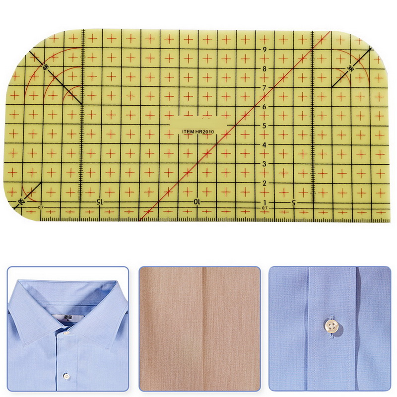 Ironing Ruler Measuring Tool Hot Patchwork  Craft Cloth Cutting Rulers Patchwork Ruler Quilting  Sewing Accessories-2