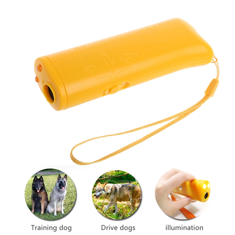 3 in 1 Ultrasonic Anti Bark Stop Barking Dog Training Repeller Control