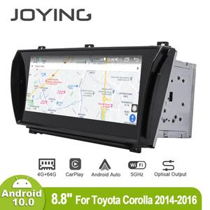 Image 5 - Joying 8.8inch Android10 Car Radio for Toyota Corolla 2014 2015 2016 GPS DSP Carplay 5G WIFI Optical Output Subwoofer SPDIF