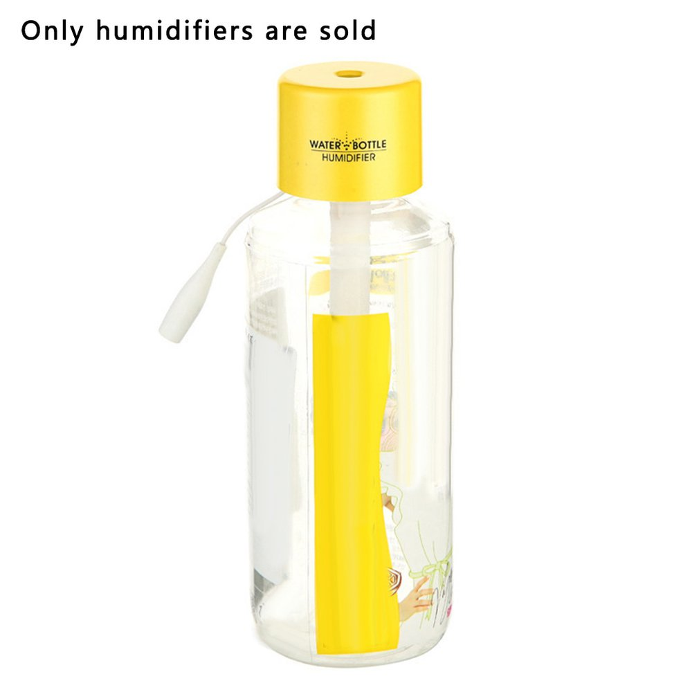 Car Atomized Aromatherapy Spray Usb Humidifier Portable Home Small Mineral Water Bottle Cap Mini Humidifier(China)