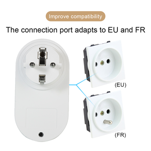 Image 5 - 433Mhz Wireless Remote Control Switch Smart Socket EU French Plug 220V 16A Electrical Outlet And Universal Switches For Lamp