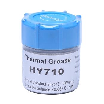 10g HY710-CN10 pasta termiczna CPU Chipset chłodzenie związek masa silikonowa 3 17W tanie i dobre opinie BGEKTOTH NONE CN (pochodzenie) Karta graficzna common Brak RPM Gips przewodzący ciepło 20202020 Thermal Grease