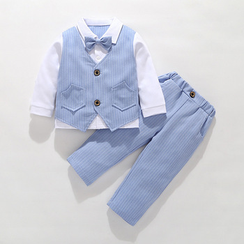 Wedding Boys Suits Set Formal Kids Blazer Toddler Boy Suits Best Design Suit for Boy Costume Baby Boy Outfits Children Clothes boys black blazer wedding suits for boy formal dress suit boys kids page outfits 5 pcs set gh461
