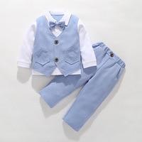 Wedding Boys Suits Set Formal Kids Blazer Toddler Boy Suits Best Design Suit for Boy Costume Baby Boy Outfits Children Clothes