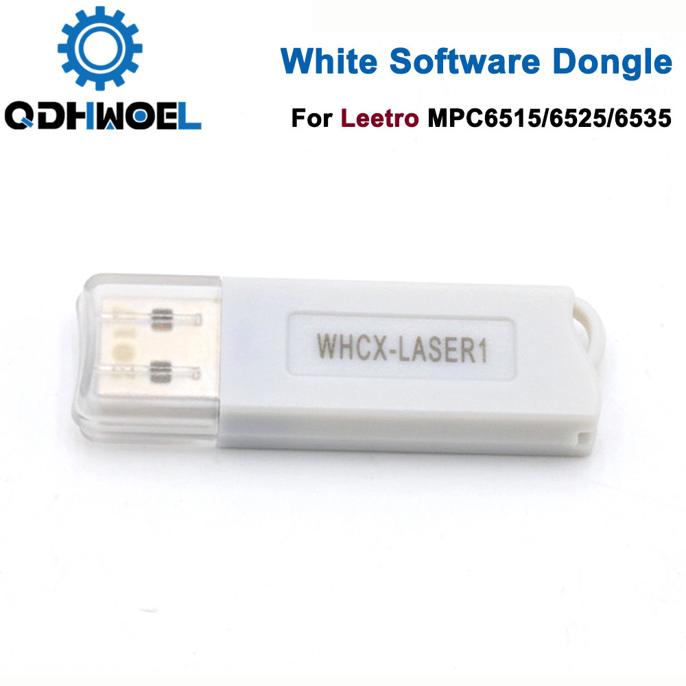 Leetro USB White Software Dongle For Co2 Laser Controller MPC6535 MPC6565