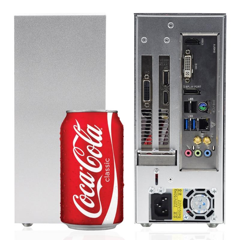 METALFISH S3 PC Gaming Case ITX MINI Small Case All Aluminum Suitcase Portable HTPC Desktop Computer Empty Chassis
