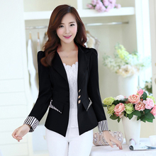 J40460 Black Red Pink 3 Colors Fashion New Arrival OL Business Suit Bla