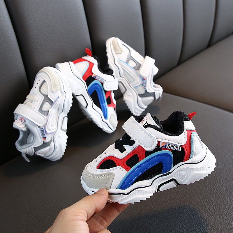 2019 Autumn Kids Sports Shoes Children Casual Boys Sneaker Fashion Spring Girls  Anti-Slippery Breathable Leisure
