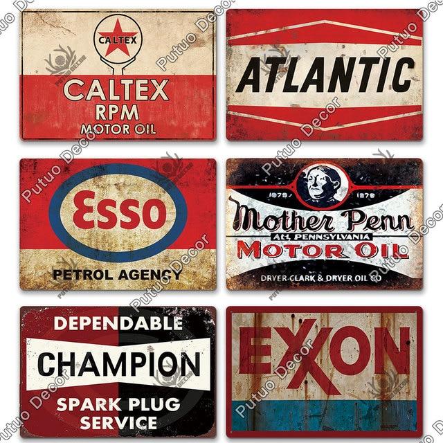 Oil Brand Plates 10
