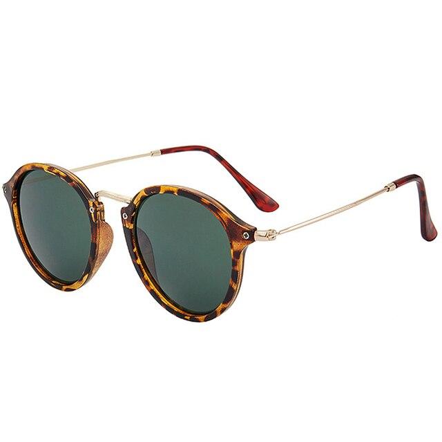 RBROVO-gafas De Sol redondas para mujer y hombre, anteojos De Sol femeninos De diseño, De alta calidad, Estilo Vintage, 2021 2