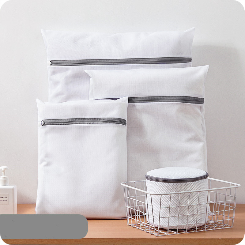 Foldable Mesh Laundry Bra Underwear Organizer Zipper Bag Lingerie  Care Pouch Net Basket For Washing Machine Cleaning Tool