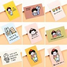 Sticker-Set Postcard Photograph-Props Hand-Acount Background Decoration Painting Korean