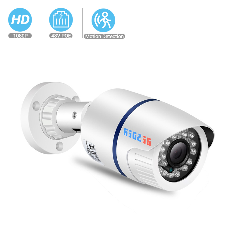 BESDER 1080p/720p Full HD IP Camera Wide Angle H.264 Outdoor Waterproof Home Security Camera CCTV Camera Email Alert P2P XMEye