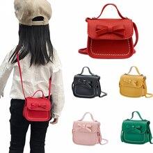 Coin Purse Little-Girl Handbag Money-Bag Wallet Small Bag Cute Baby Children Kid Bow
