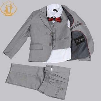 Boys Suits for Weddings Costume Enfant Garcon Mariage Boys Blazer Jogging Garcon Kids Suits Suit for Boy Jackets Vest Pants 3pcs - DISCOUNT ITEM  33 OFF Mother & Kids