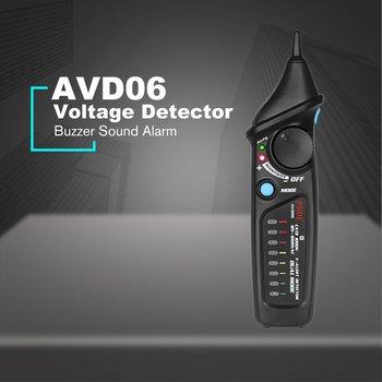 BSIDE AVD06 Nicht-kontaktieren Spannung Detektor AC 12-1000V Test Stift Tester Steckdose Live Draht Überprüfen Dual Modus Mit 8LED Licht