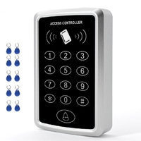 RFID Access Waterproof Outdoors Use Reader 2000 Users Access Control System Keypad Password Access Control Smart Door Lock Key F