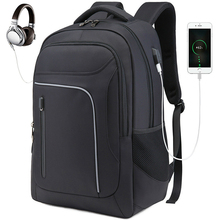 Fashion Laptop Backpack Men Travel Backpack Large Capacity USB Charging Computer Backpacks Men Waterproof Mochila Masculina