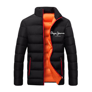 Running Jacket Men Sports Coat Fitness Long Sleeve Cotton Coats Zipper Slim Hiking Sweatshirts Male Cotton Keep Warm Jackets