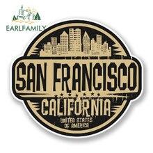 EARLFAMILY – autocollant de voiture en vinyle 13cm x 10cm, autocollant de style de voiture, en vinyle, de style de voiture, de californie, des états-unis, de californie, imperméable, accessoires pour fenêtres