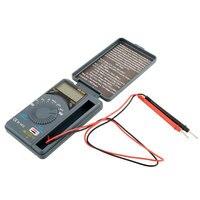 XB-866 LCD Auto Range Pocket Digital multímetro voltímetro probador herramienta