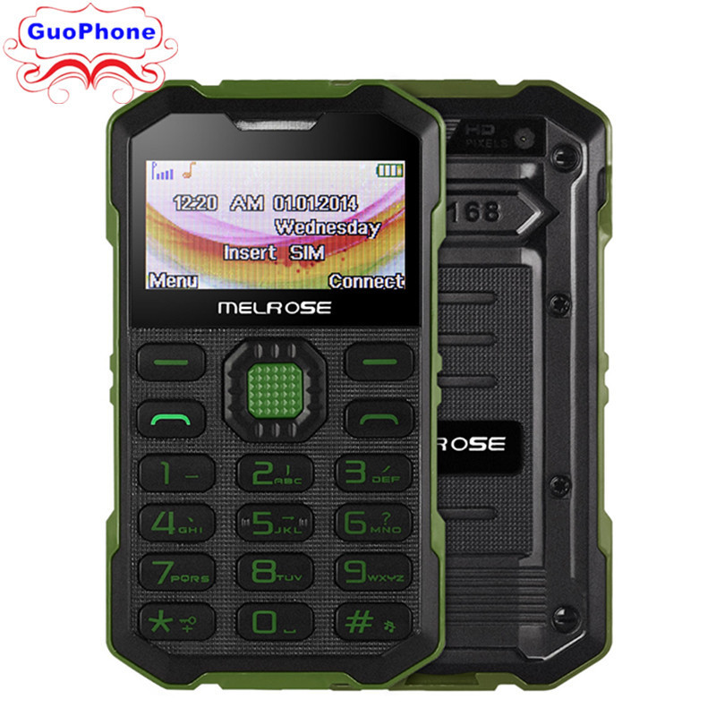 Original Melrose S2 Mini Phone With MP3 Camera Bluetooth Ultra-thin 1.7Inch Outdoor Shockproof Dustproof Phone image