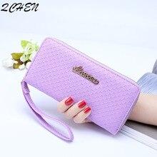 Women Long wallets Clutch New zipper tassel wallet Large Capacity Wallets Female Purse Lady Purses Phone Pocket Card Holder 535