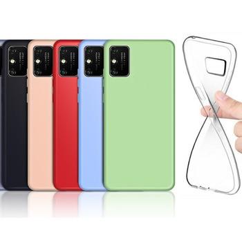 SUREHIN di caso per Samsung galaxy note 20 più molle della copertura rosso rosa verde trasparente della copertura del silicone per samsung galax nota 20 caso