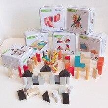 Деревянные развивающие игрушки для раннего обучения, развивающие строительные блоки, игрушки для разборки, Детские когнитивные интерактивные игры, игрушки, подарки