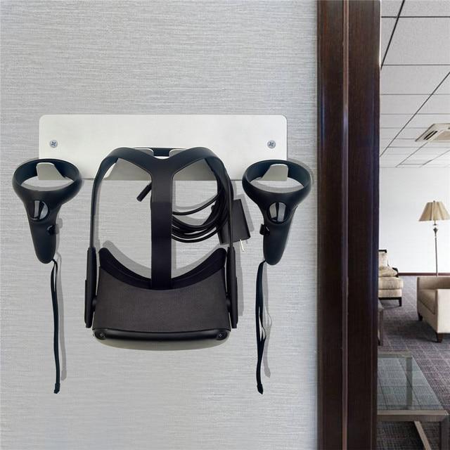 Wall Mount Bracket for Oculus Quest Rift Rift S for HTC Vive/Vive Pro for Valve Index VR Headset Storage Stand Universal Holder
