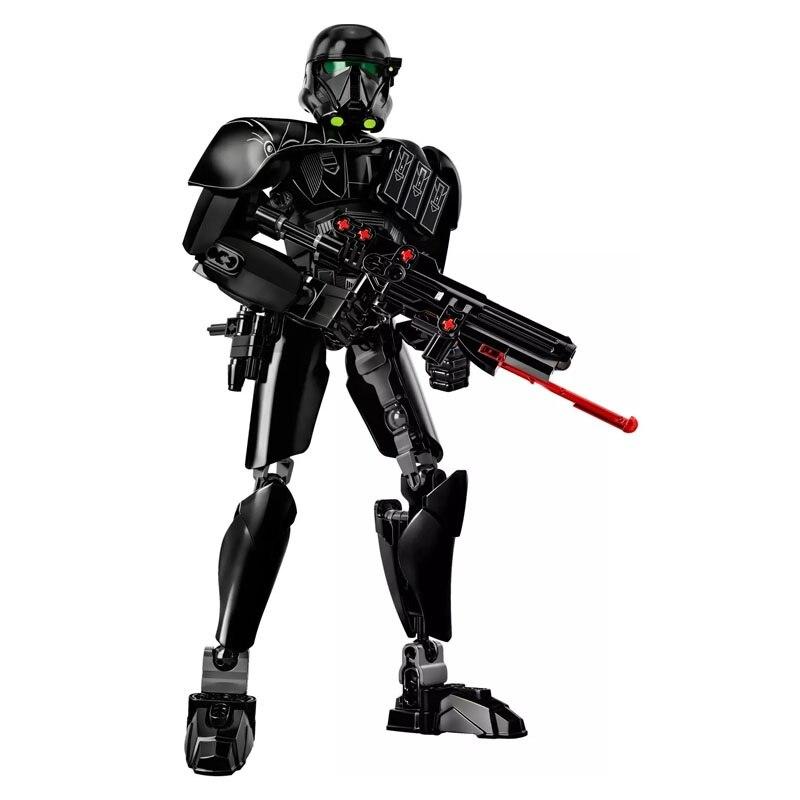Star Wars Boba Fett Darth Maul Kylo Stormtrooper Phasma Ren Rey Vader Model Assemble Figure Construction Toys For Children 23