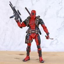 NECA figura DE ACCIÓN DE Deadpool, juguete de modelos coleccionables de PVC a escala 1/10, Epic Marvel