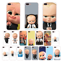 HOUSTMUST Soft phone case For iphone x xr xs max 7 6s 8 6 plus 5s 5 10 se cover Funny cartoon The Boss baby silicone cute shell