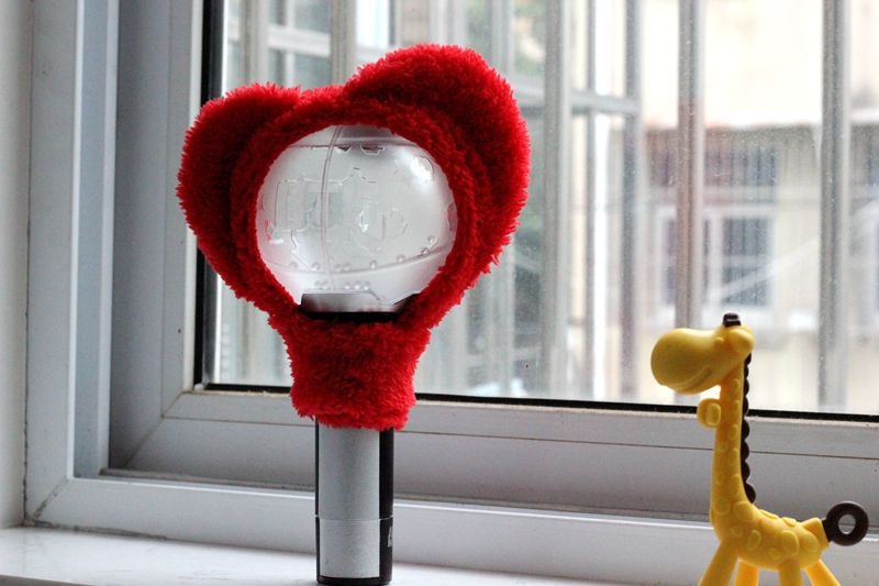 Kpop JUNGKOOK SUGA JIN RM JHOPE V JIMIN Light Stick Plush Head Cover Headband LightStick Toy Gift