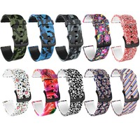 For Xiaomi Huami Amazfit GTS Bracelet Watchband Camouflage Silicone Watch Strap 20mm Width Band