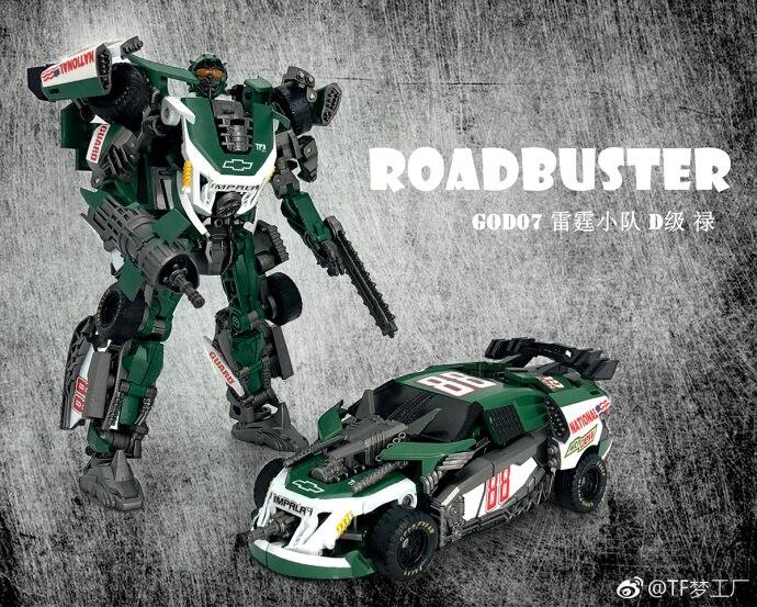 New Transformation TF Dream Studio GOD07 Roadbuster Figure