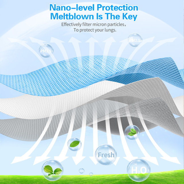 3 Layers Filter Disposable Surgical Mask Non-woven Safety Medical Face Mask Anti-pollution Flu Protection Mouth Nose 1