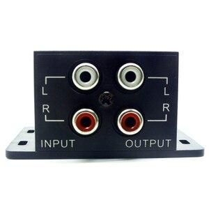 Image 5 - New Car Amplificatore di Potenza Audio Regolatore Bass Subwoofer Equalizzatore di Crossover Controller 4 Rca Regolare Linea di Livello di Volume Amplificatore