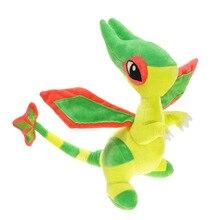 Мультфильм 30 см Flygon плюшевые игрушки Фигурки Мягкая Плюшевая Кукла животного
