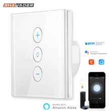Smart WiFi Touch Dimmen Schalter Intelligente Panel Europäische Verordnung App Remote Voice Control arbeit mit Alexa Google Home IFTTT