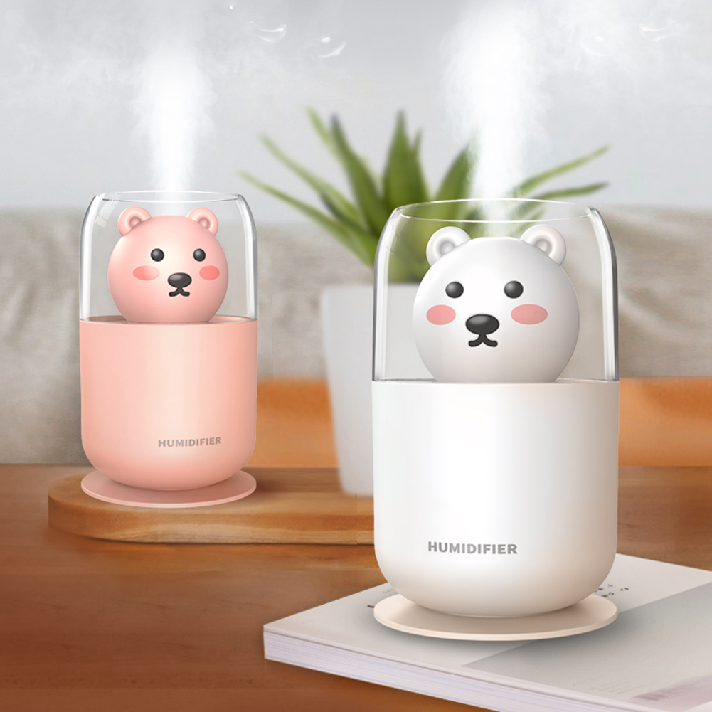 Multi-function Car Air Humidifier USB Nano Spray Cool Mist Maker Air Purifier with LED Light Aroma Oil Essential Diffuser