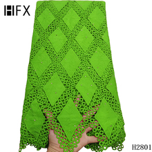 African lace fabric Latest Green Cord Lace Fabric Water Soluble Dress Lace Stones 2019 High Quality Nigerian Guipure Lace Fabric 1kg high quality water soluble dha
